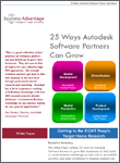 Business Advantage White Paper Download: 25 Ways Autodesk Software Partners Can Grow
