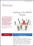 Business Advantage White Paper Download: Getting to the RIGHT People