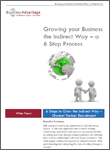 Growing your Business the Indirect Way free white paper download