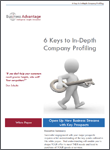 Business Advantage White Paper Download: In-depth Company Profiling